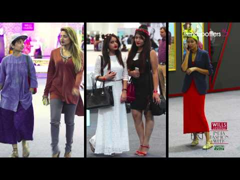 Street Style spotted at the Wills Lifestyle India Fashion We
