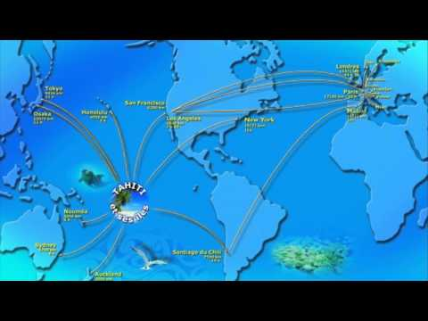 bora bora french polynesia map - YouTube