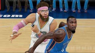 NBA 2K15 MyCareer Playoffs - Round 1 Game 4 vs. Oklahoma City