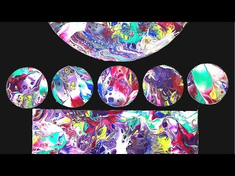 Easy Fluid ART DIY Paint DIPPING with Acrylic Pouring