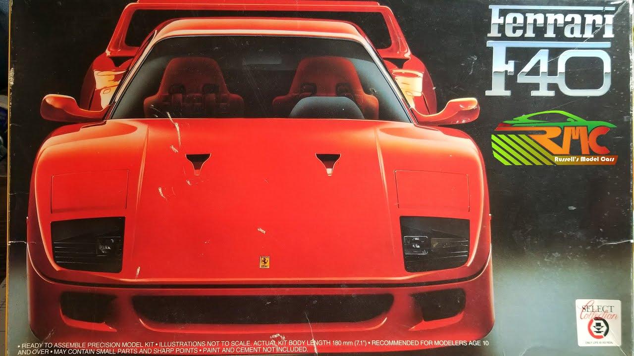 Fujimi Ferrari F40 Youtube