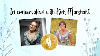 In conversation with Kim Marshall.