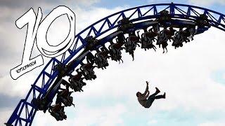 Najgorsze wypadki w parkach rozrywki! [TOP10FAKTÓW]