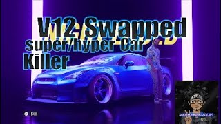 Need For Speed Heat V12 Swapped GTR Hyper/Super Car Killer (Quick Review)