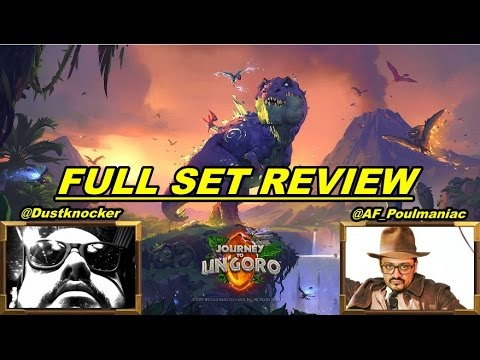 Journey to Un'Goro - Full Set Review ( TWITCH VOD )