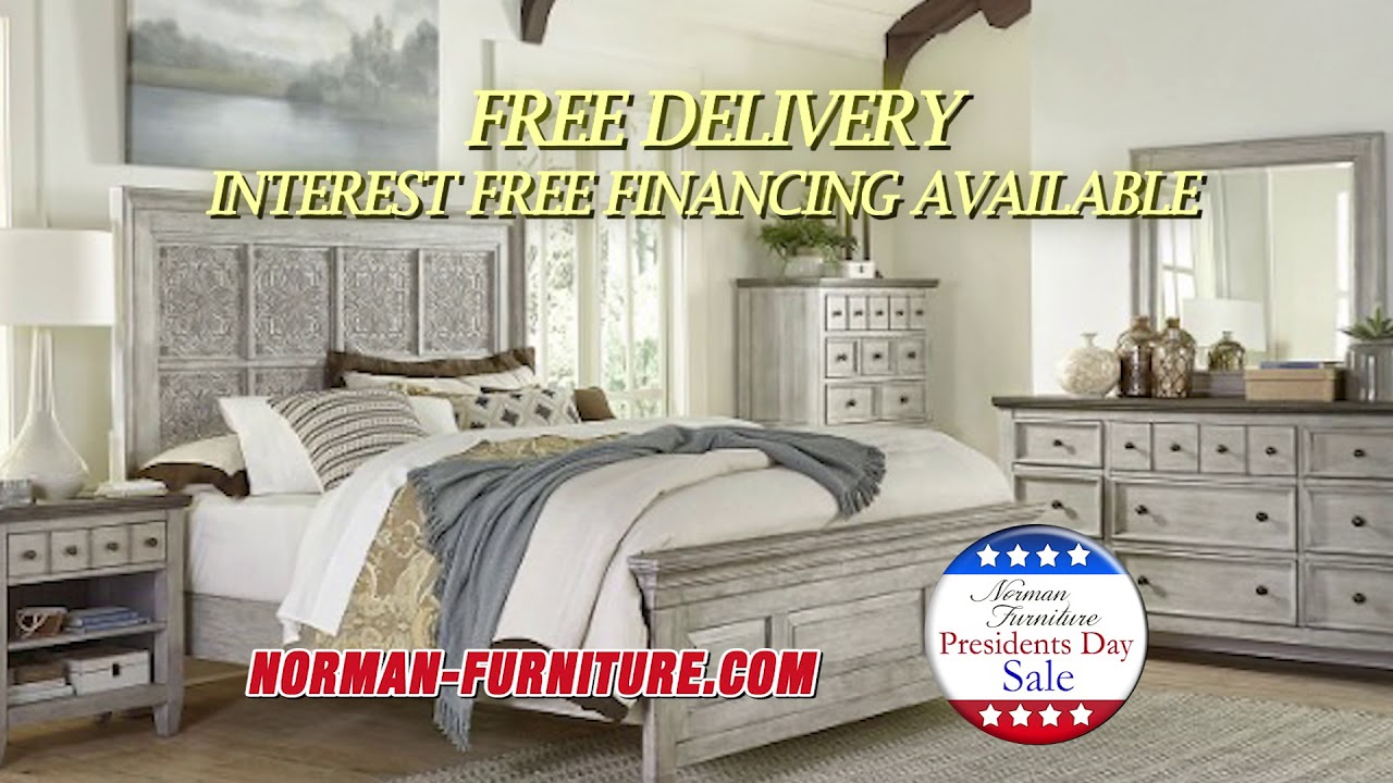 Norman Furniture Presidents Day 2020