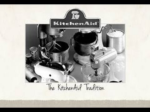 The KitchenAid Tradition