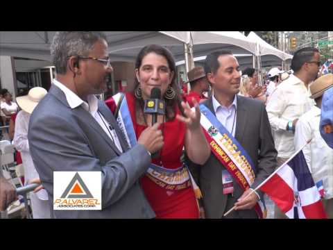 Angela Fernandez President Of The Dominican Day Parade NYC 2016
