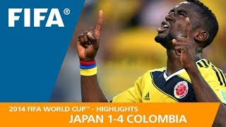 JAPAN v COLOMBIA (1:4) - 2014 FIFA World Cup™
