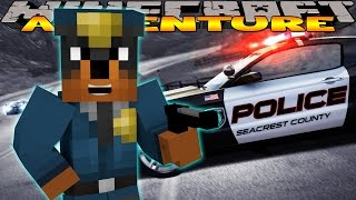 Minecraft - Donut the Dog Adventures - BECOMING A POLICE OFFICER FOR THE DAY!!!!