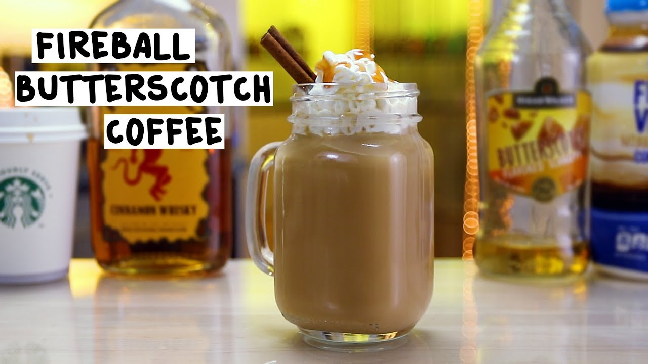Fireball Butterscotch Coffee