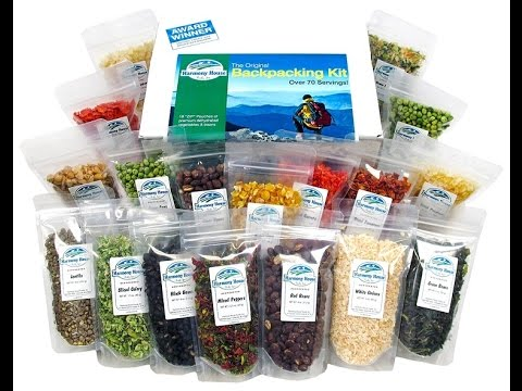 Harmony House Backpackers Kit - Review