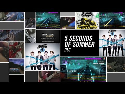 5 Seconds of Summer Song Pack - Rocksmith 2014 Edition Remastered DLC
