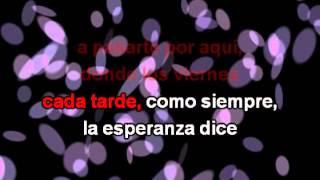 Rosas, con letra - La Oreja de Van Gogh Karaoke
