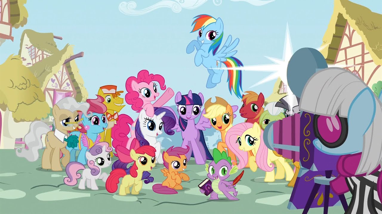My little pony friendship is magic season 4