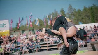 Eukonkannon MM-kisat - Wife Carrying World Championships, Finland