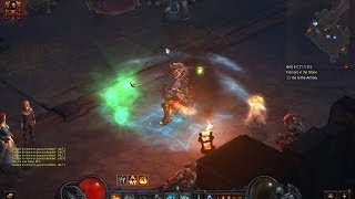 Diablo 3 gameplay Monk hardcore Torment 1 (patch 2.0.3.)