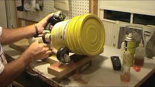 Homemade Brass Tumbler