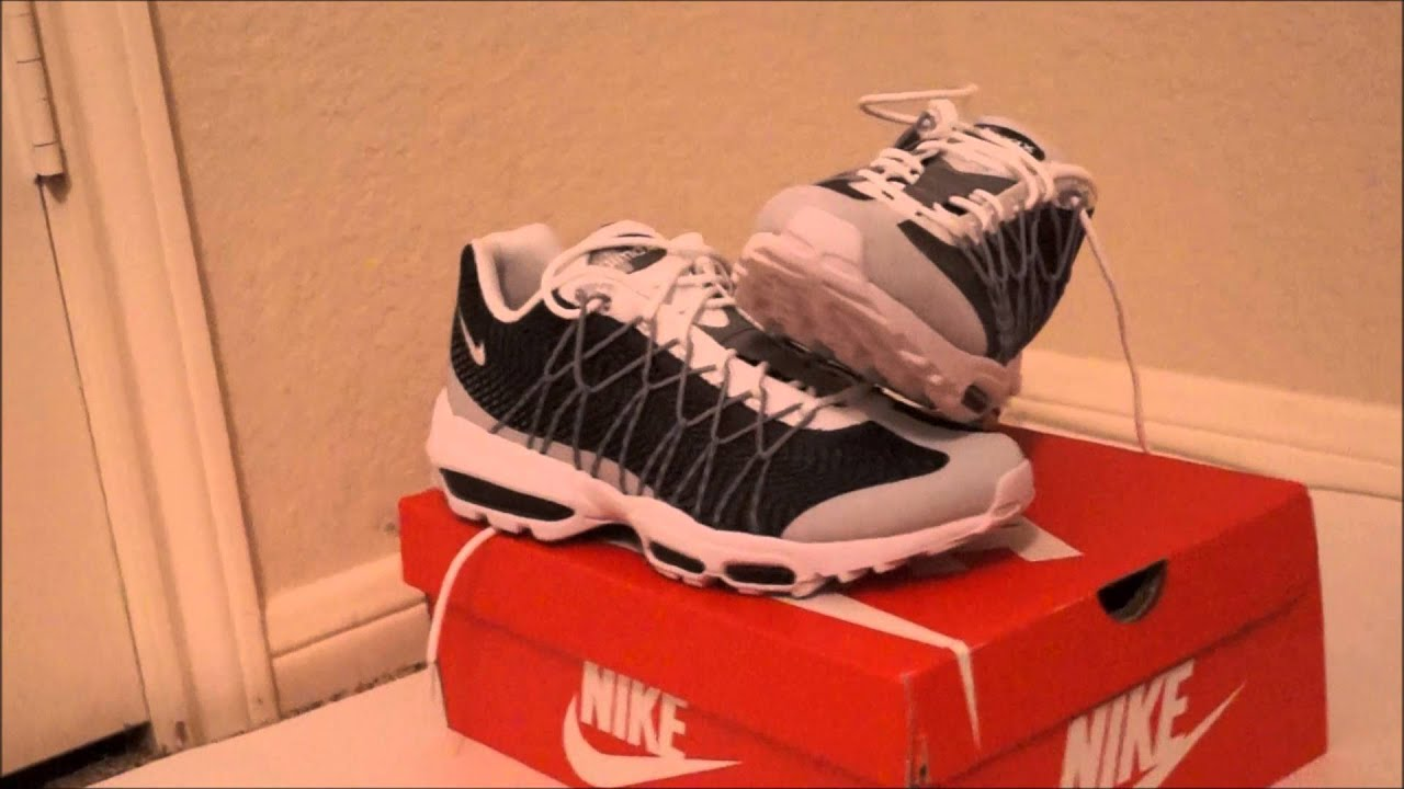 buy popular 0277f 93191 Nike Airmax 95 Ultra JCRD Unboxing/ Review - YouTube