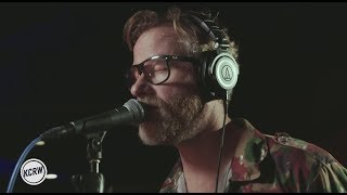 "The National performing ""Nobody Else Will Be There"" Live on KCRW"