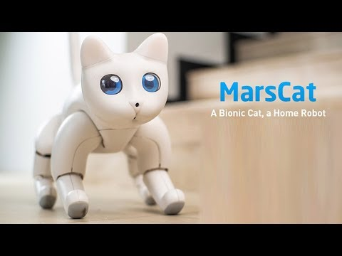 Marscat By Elephant Robotics : A Bionic Cat, A Home Robot, A Purrfect Bionic Pet Cat For You.