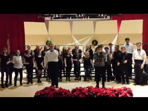 WitchPitch and The Sachimes sing Pentatonix's O Come All Ye Faithful, 2016