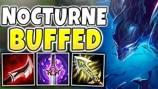 Baixar THIS WILL 100% BE NERFED!! INSTANT ACROSS MAP NUKES! BUFFED NOCTURNE GAMEPLAY! - League of Legends