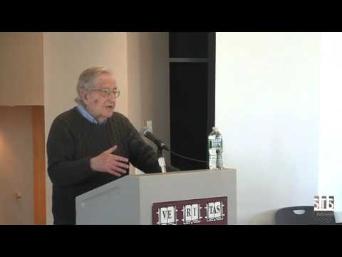 Noam Chomsky - Artificial intelligence.
