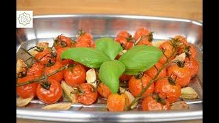 Tomates Cereja Assados no Forno - Chef Ana Lemgruber (2021)