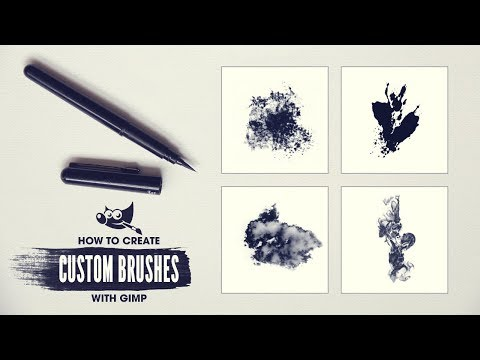 Create Your Own Brushes For GIMP