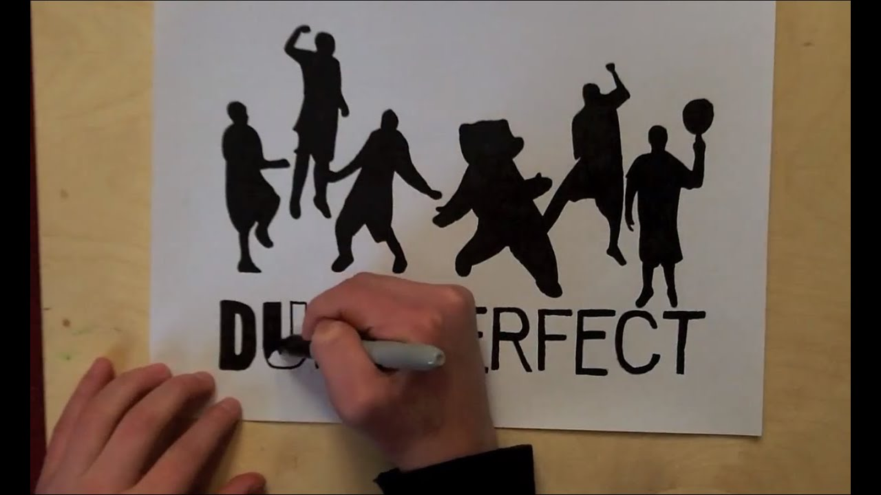 Drawing Dude Perfect Youtube