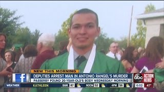 Pasco County deputies arrest a man for Second Degree Murder in the death of Antonio Rangel