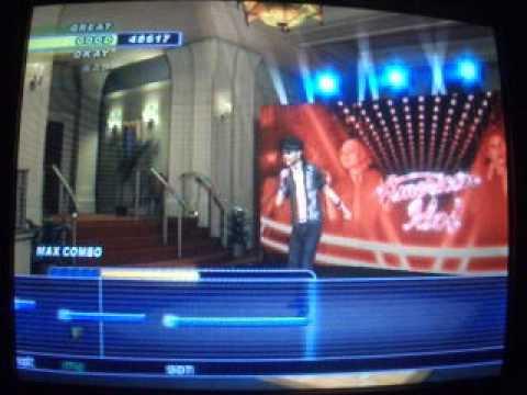 Karaoke Revolution Presents: American Idol Encore 2-Billie Jean By Michael Jackson-Hard Vocals