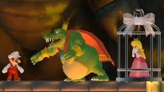 New Super Mario Bros Wii - King K Rool Boss Battle
