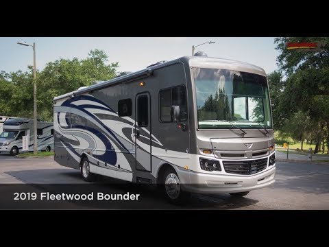 2019 Fleetwood Bounder 33C Video Tour From Lazydays