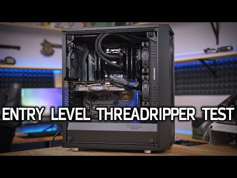 Testing the $1850 Entry Level Threadripper PC!