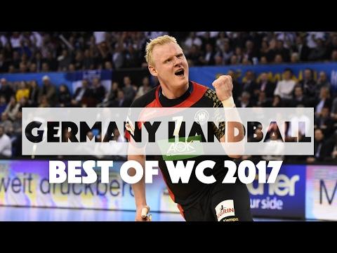 Germany Handball Team Best Plays of WC 2017