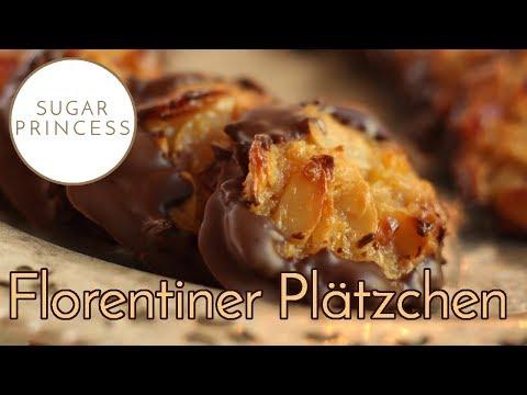 Florentiner Plätzchen: Einfaches, super saftiges Rezept | Sugarprincess
