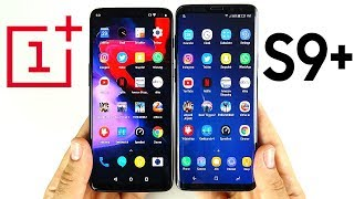 OnePlus 6 vs Galaxy S9 Plus Speed Test!
