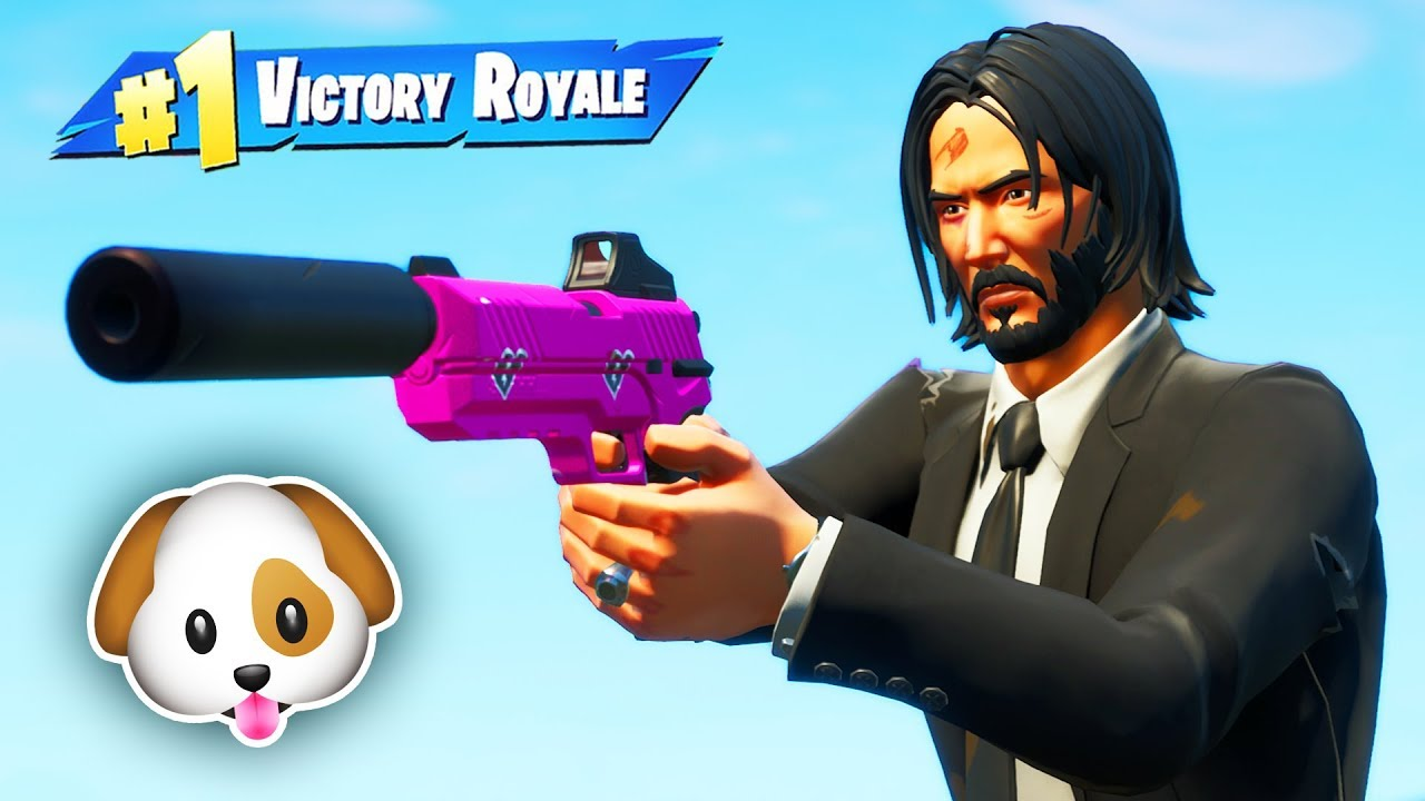 JOHN WICK ONLY Challenge (Hundewitze) + video