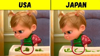 This Is How Disney and Pixar Change Their Cartoons for Different Countries