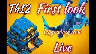 Th12 first look . Clash of clans townhall 12 first look