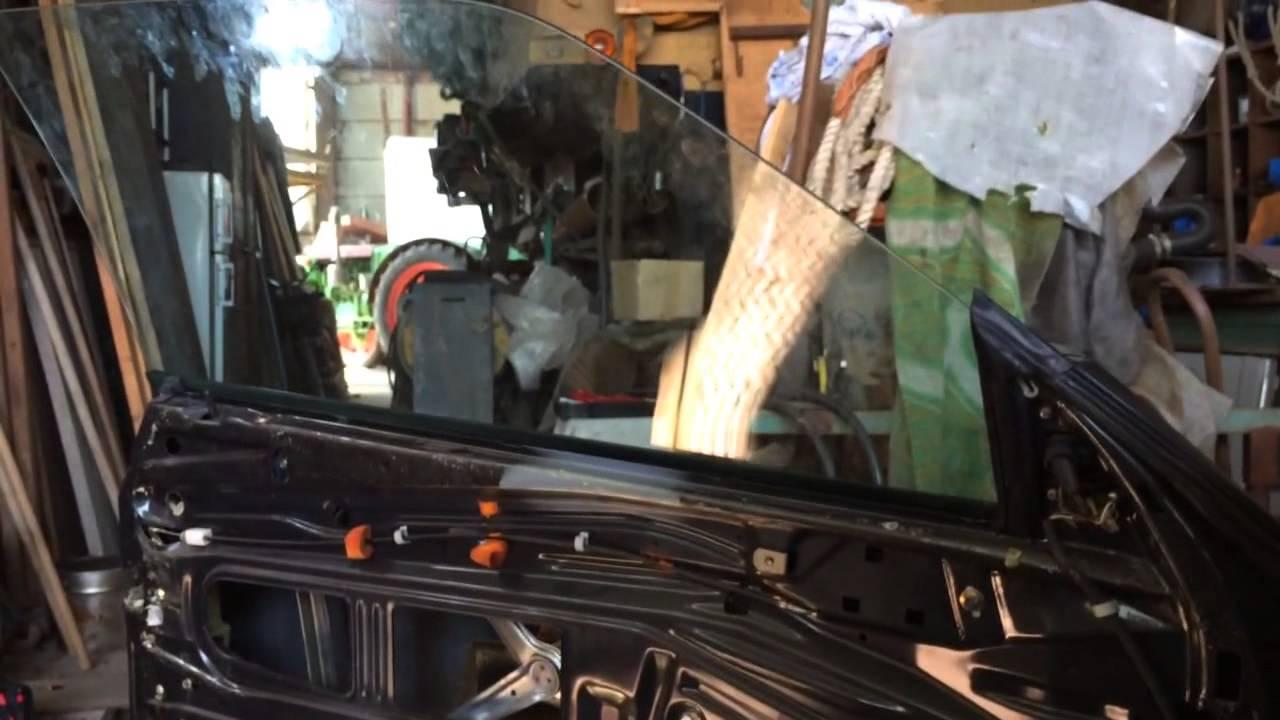 El. Fensterheber w124 Coupé vorn ( C124 / Mercedes CE ) - YouTube