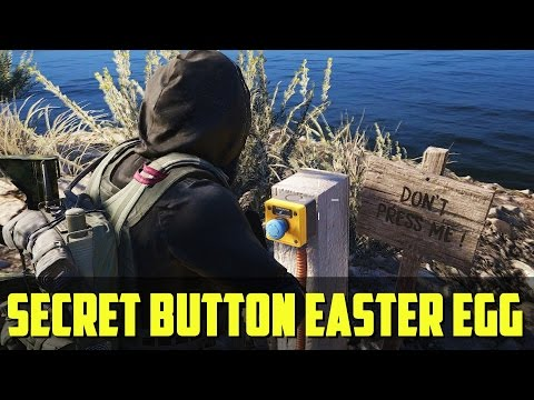 Ghost Recon: Wildlands | Secret Button: SUPER DAM Easter Egg!