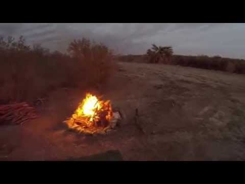 Colorado River Free Boondocking near Yuma AZ  Feb. 2015