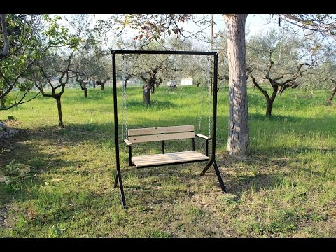dondolo da giardino fai da te homemade porch swing youtube