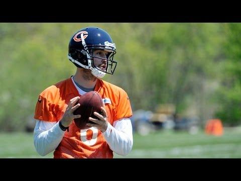 Bears quarterback Jay Cutler