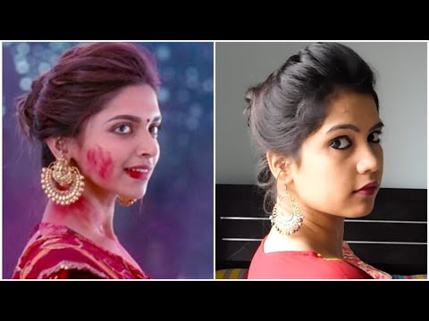 EASY Everyday Messy Bun Hairstyle for School, College,Work | Deepika Padukone| Indian Hairstyles