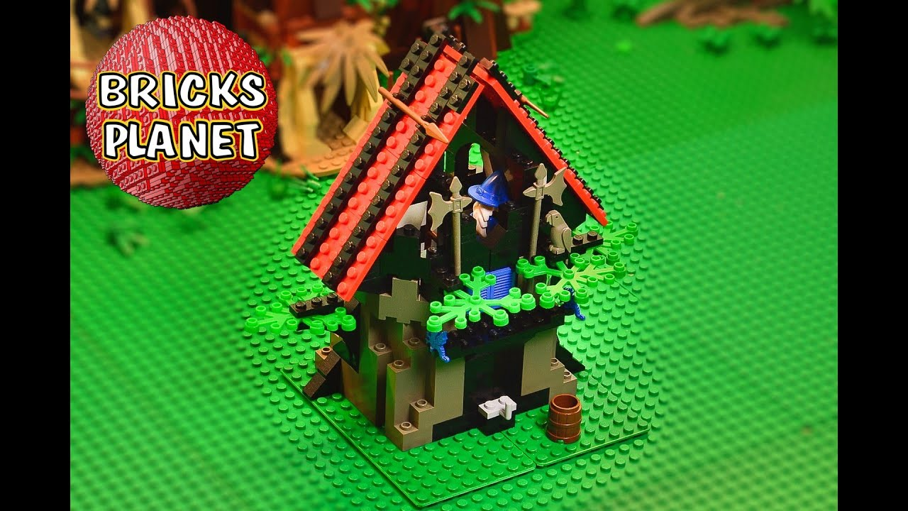 Majisto's Magical Workshop 6048 LEGO Castle - Review, Stop Motion,  Time-Lapse Build