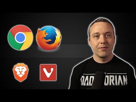 Choosing My Web Browser
